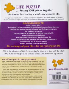 Life Puzzle back cover